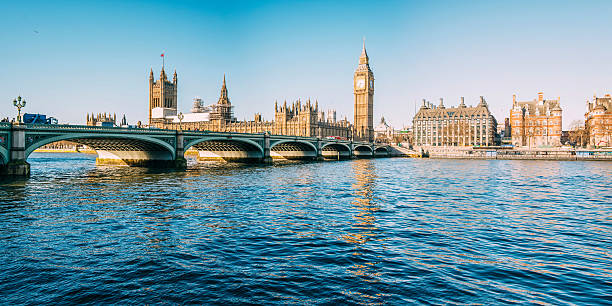 Big Ben - Houses of Parliament One of the most iconic buildings in London, England, and home of UK's government. london england stock pictures, royalty-free photos & images