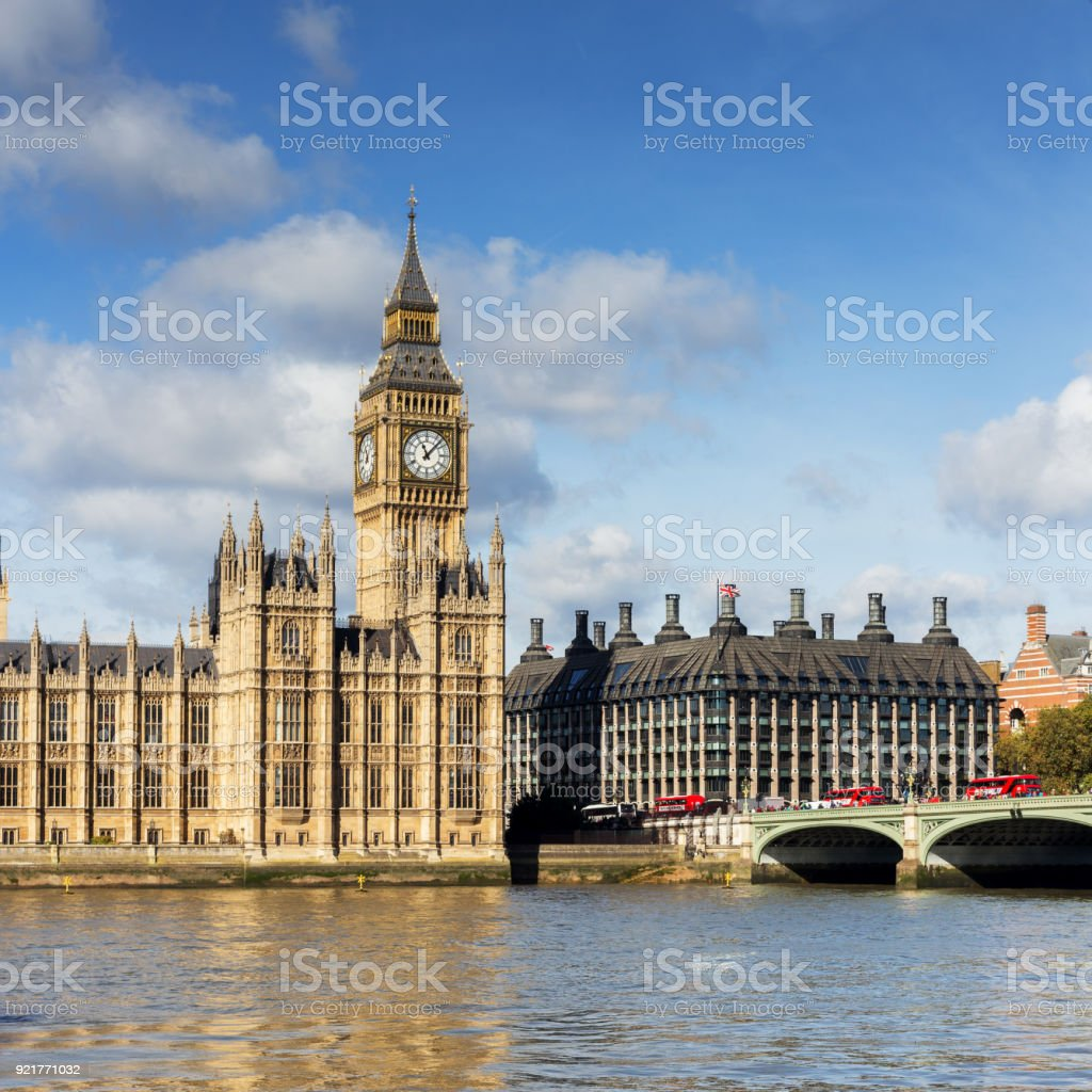 Big Ben - Houses of Parliament stock photo