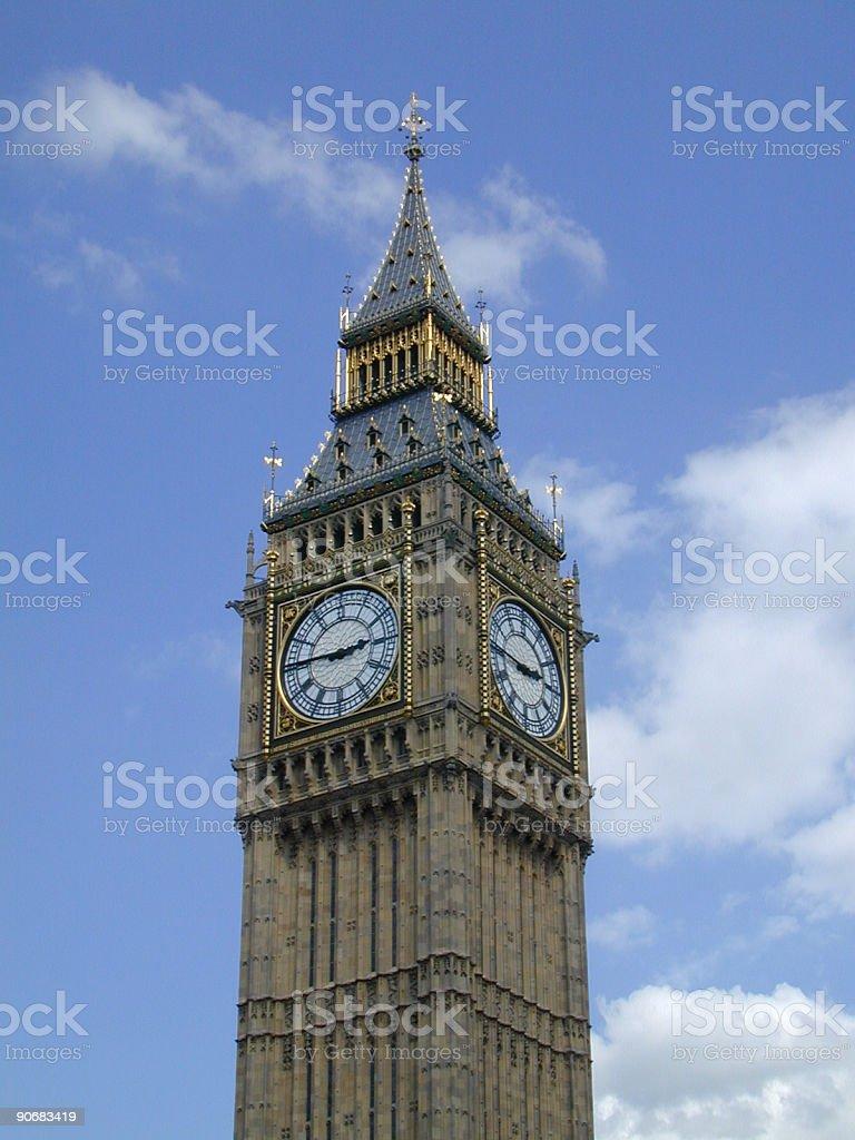 Big Ben II royalty-free stock photo