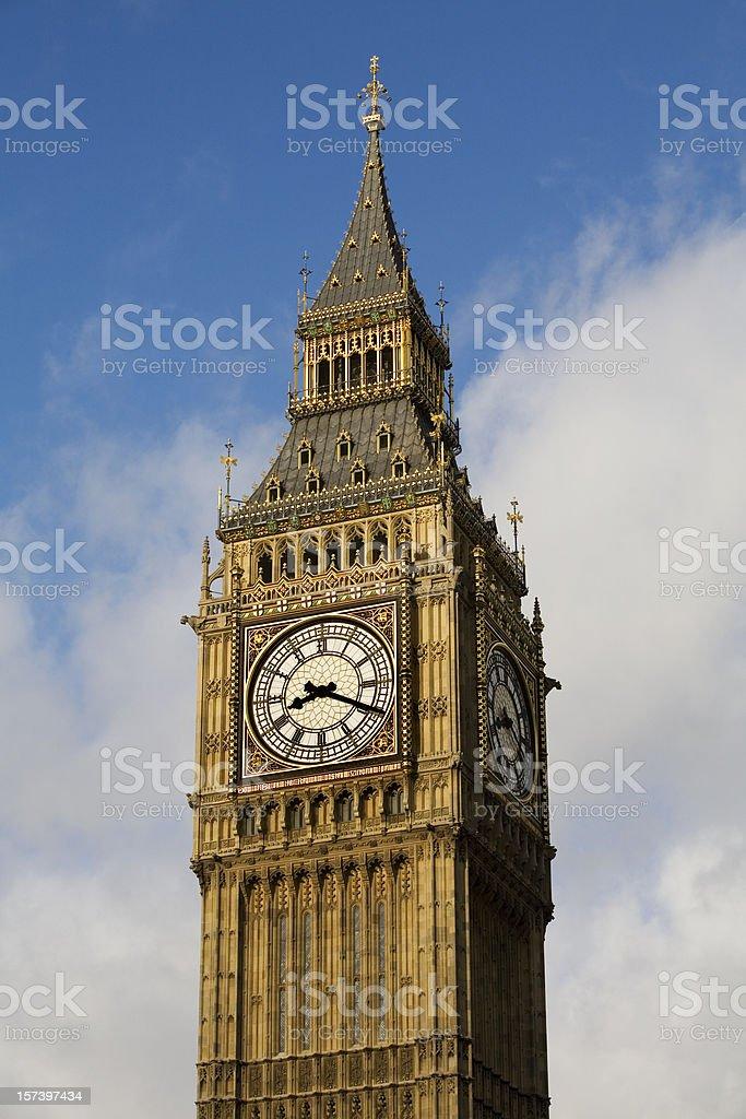Big Ben in London England royalty-free stock photo