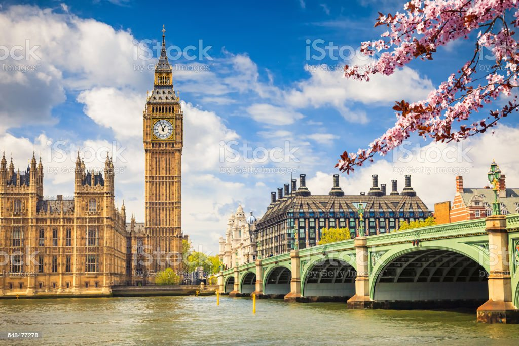 Big Ben en Londres  - foto de stock