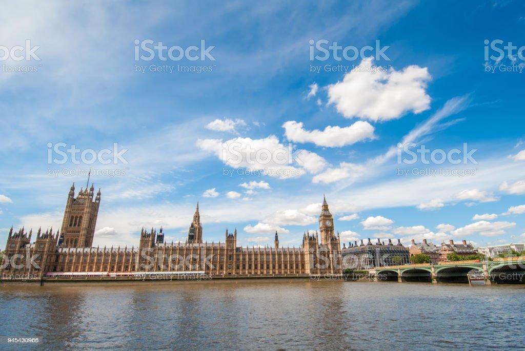 Big Ben in London, United Kingdom stock photo