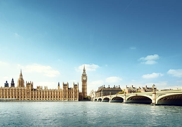 Big Ben in sunny day, London Big Ben in sunny day, London city of westminster london stock pictures, royalty-free photos & images
