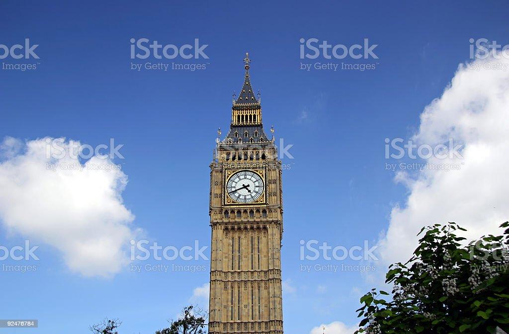 Big Ben - London, England royalty-free stock photo