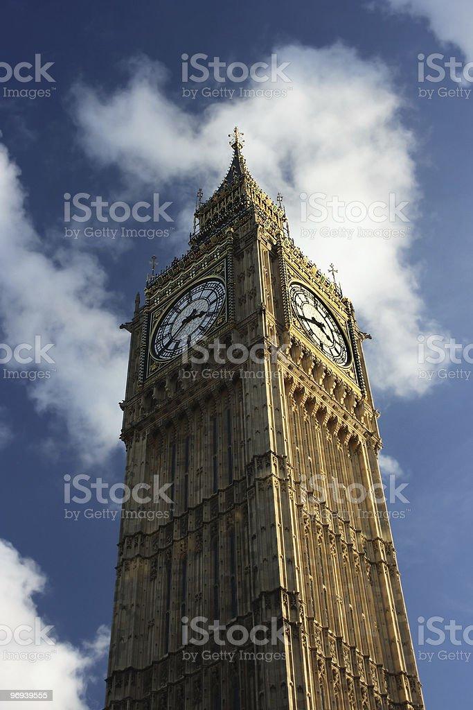 Big Ben, London, England royalty-free stock photo