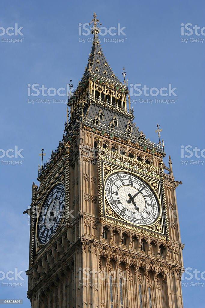 Big Ben, London, England royalty-free stock photo