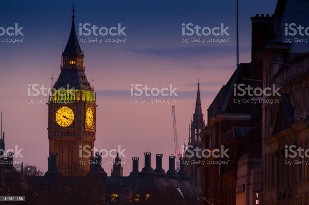 Big Ben, London, England, UK stock photo