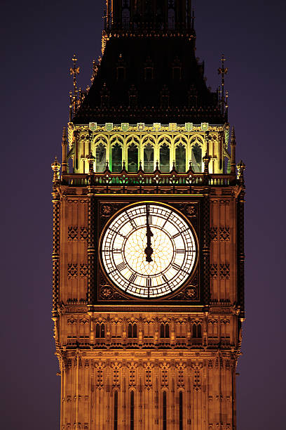 Big Ben, London  midnight stock pictures, royalty-free photos & images