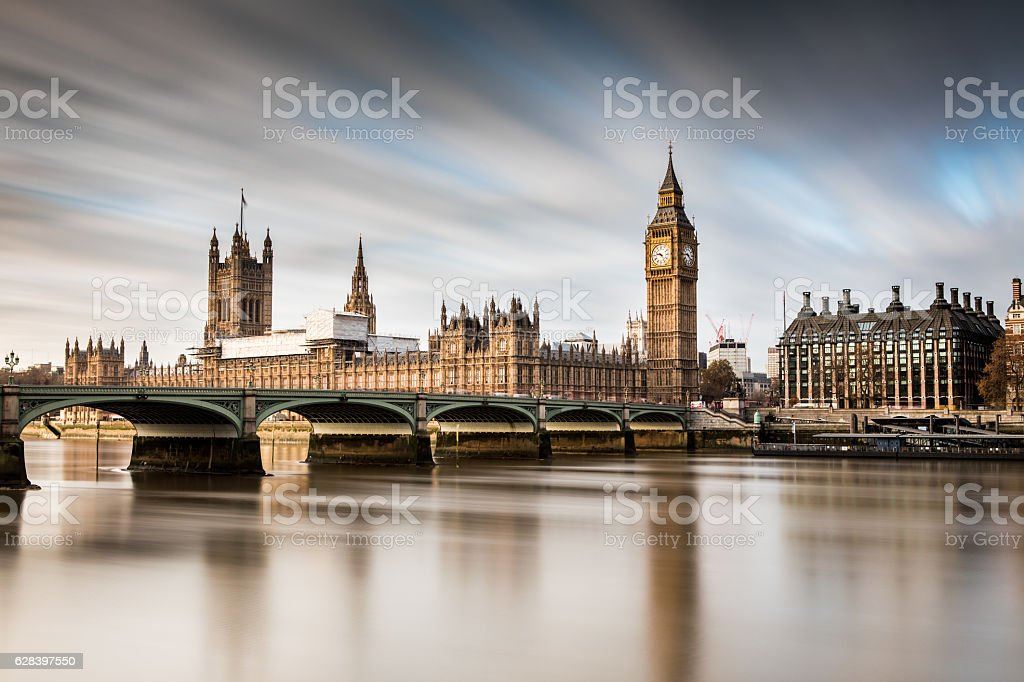 Big Ben London Westminster stock photo