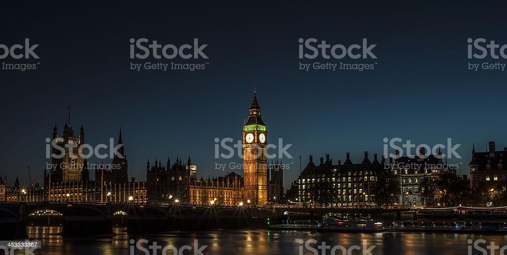 Big Ben Night royalty-free stock photo