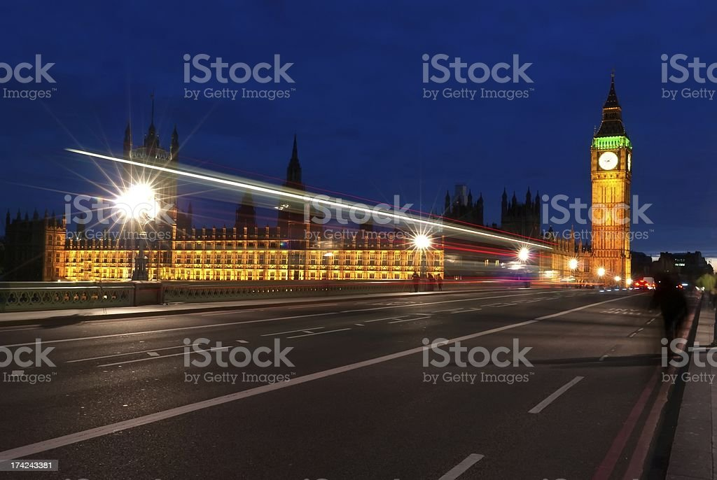 Big Ben, one of the most prominent symbols  London royalty-free stock photo