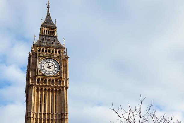 Big Ben Tower in London stock photo