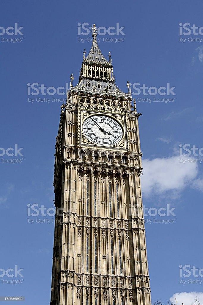 Big Ben Tower royalty-free stock photo