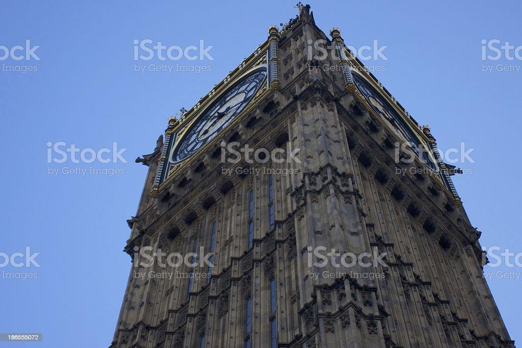 Big Ben, UK royalty-free stock photo
