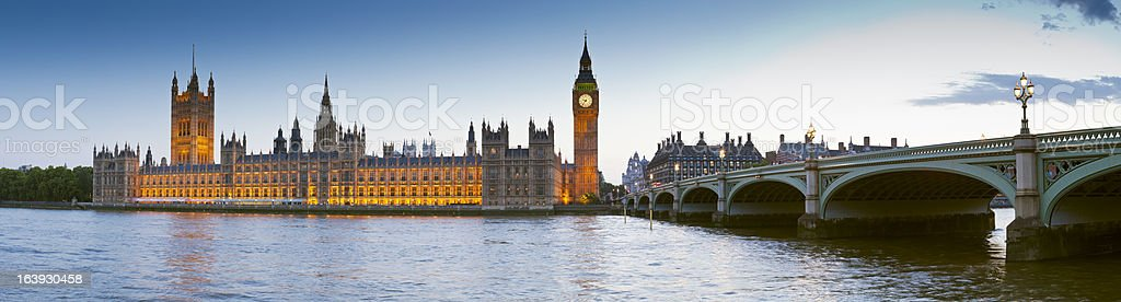 Big Ben, Westminster, Houses of Parliament, London stock photo