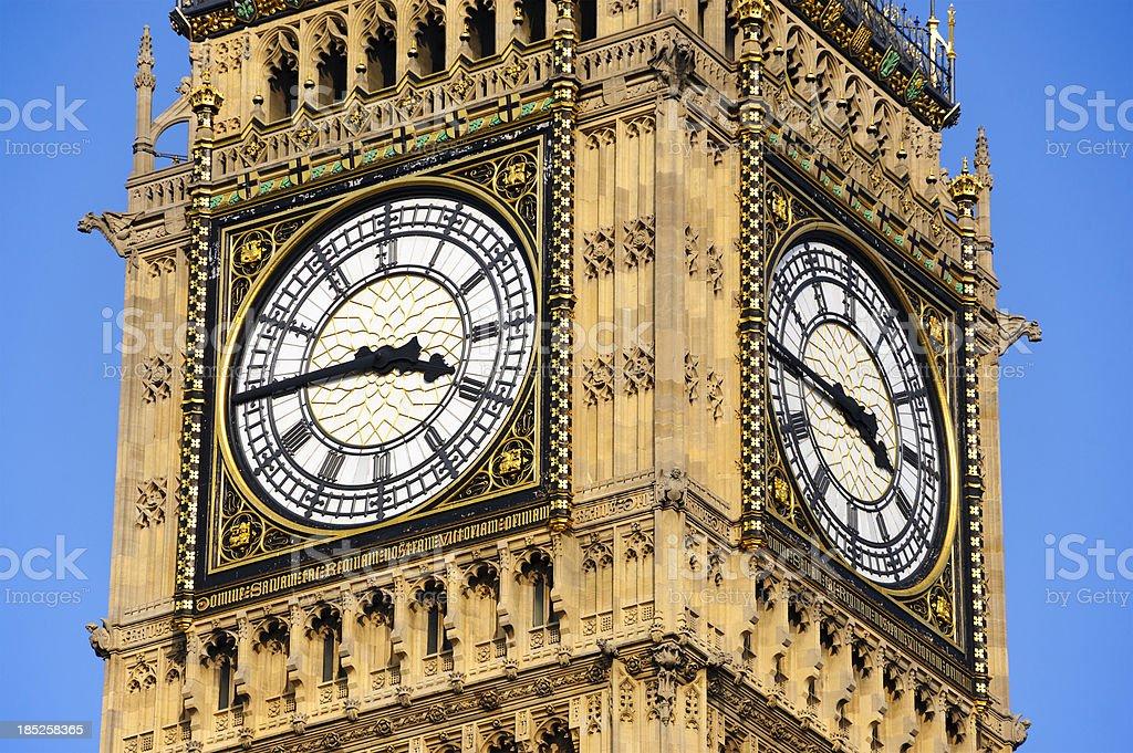 Big Ben, Westminster, London stock photo