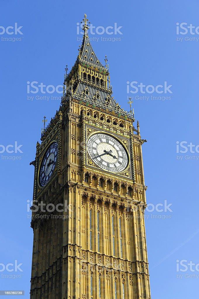 Big Ben, Westminster, London royalty-free stock photo
