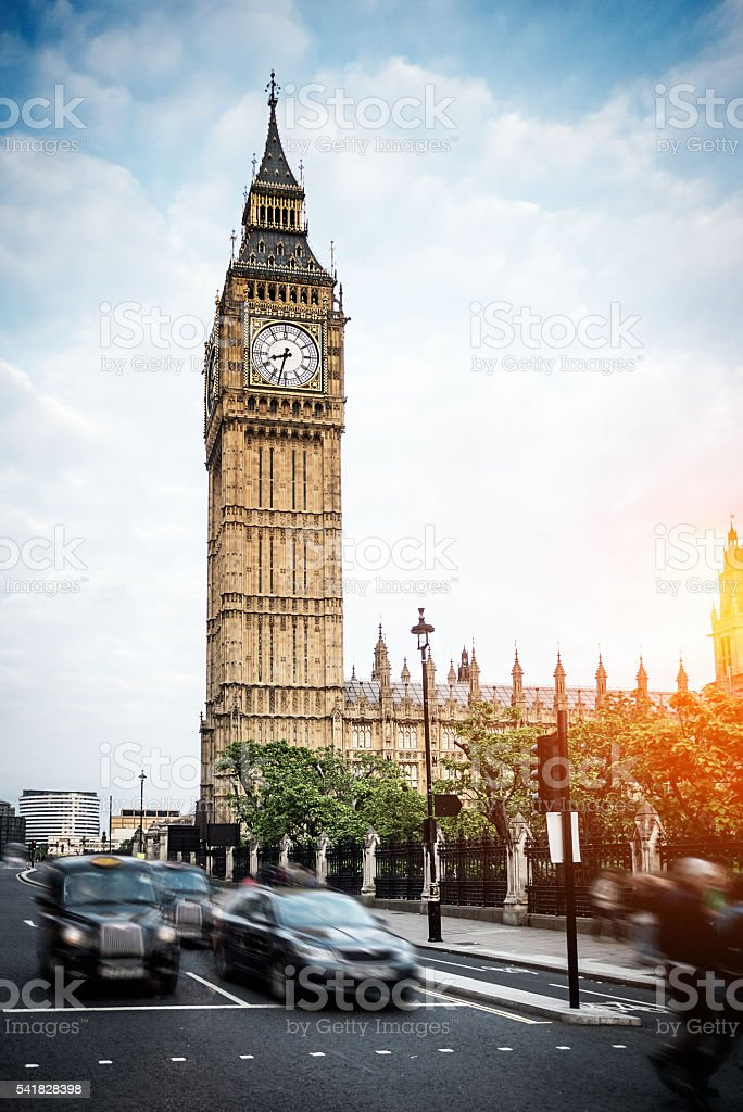 Big Ben, Westminster London stock photo