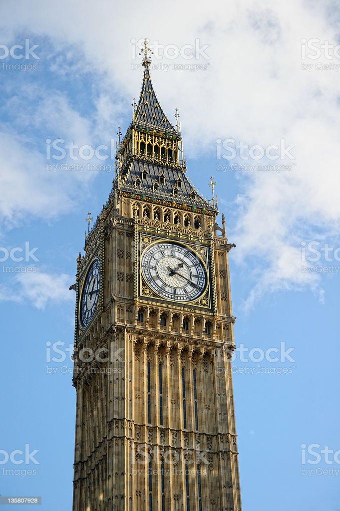 Big Ben, Westminster, London, UK, Europe royalty-free stock photo