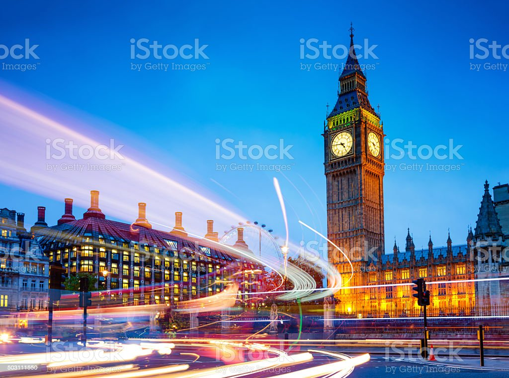 Big Ben, Westminster, London, UK stock photo