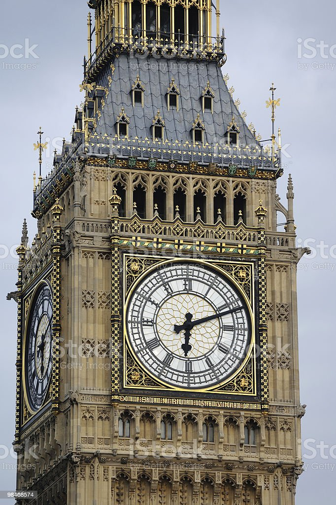 Big Ben, Westminster, London, UK royalty-free stock photo