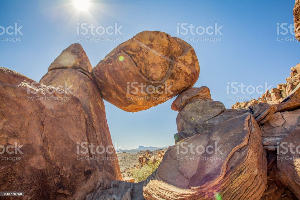 Big Bend National Park Texas stock photo
