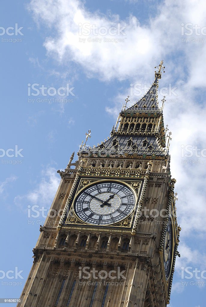 Big Ben,London,England royalty-free stock photo