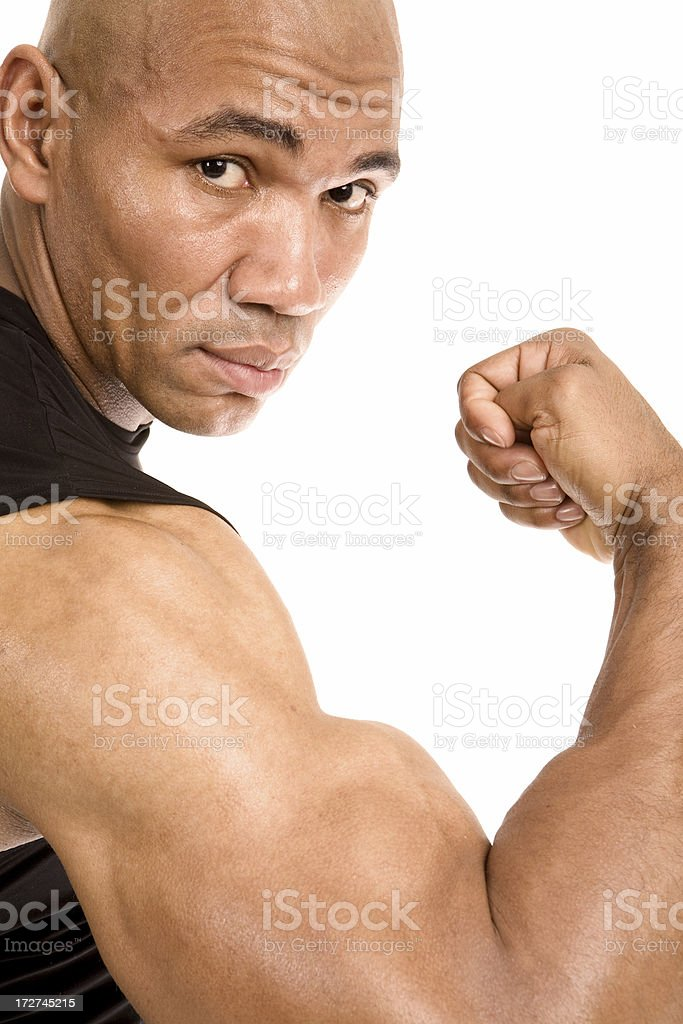 Big Bicep royalty-free stock photo