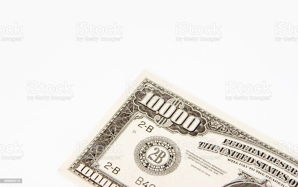 Big bill royalty-free stock photo