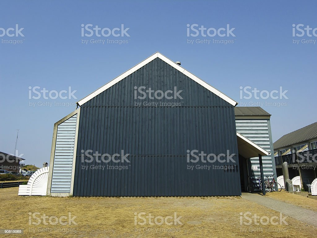 Big Black Gable stock photo