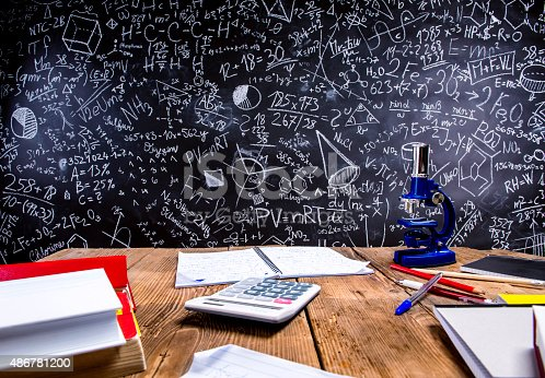 istock Big blackboard 486781200