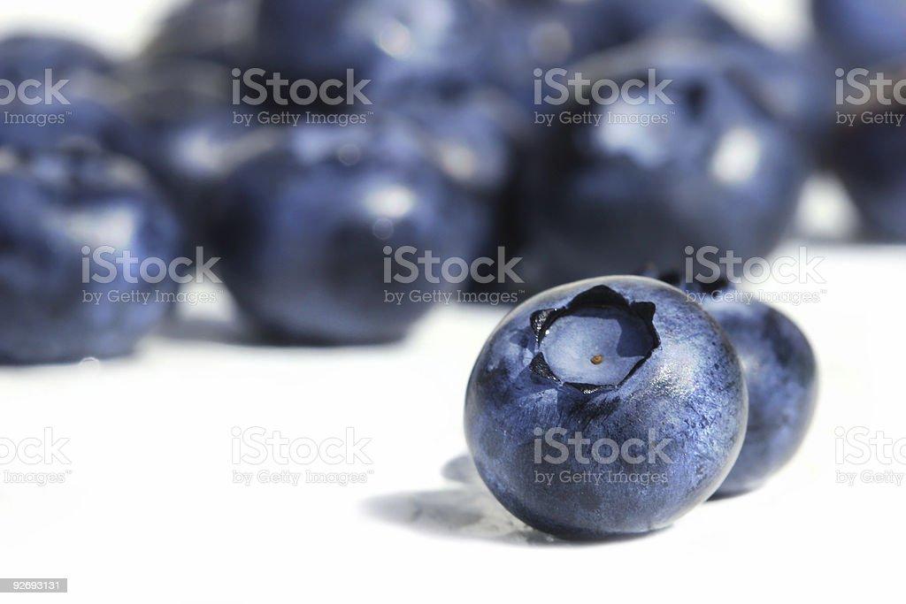 Big blueberries royalty-free stock photo