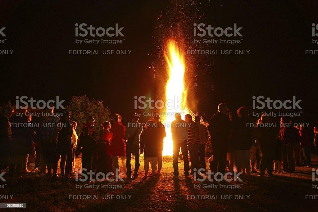 Grand feu de joie - Photo