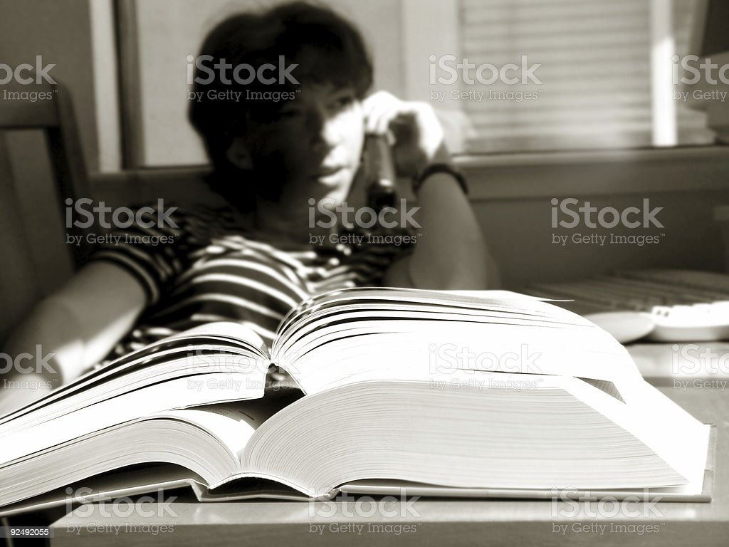 Big Books royalty-free stock photo