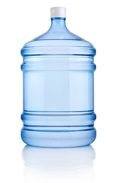 Big bottle of water isolated on a white background Big bottle of water isolated on a white background cooler container stock pictures, royalty-free photos & images