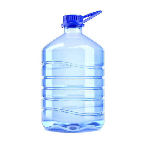 Big bottle of water on a white background 3d rendering Big bottle of water on a white background 3d rendering gallon stock pictures, royalty-free photos & images