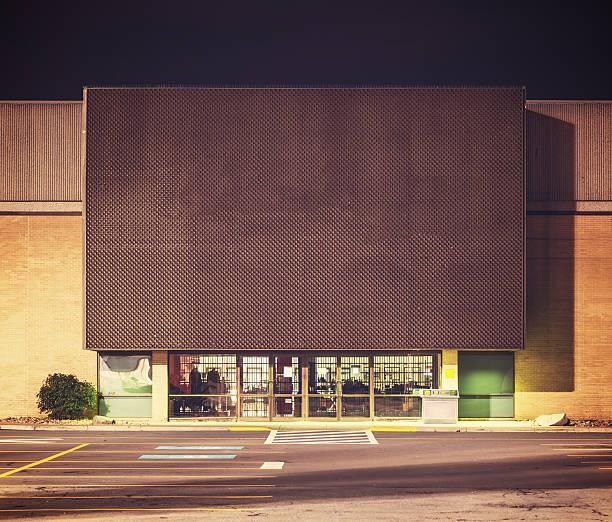 Big Box Store stock photo