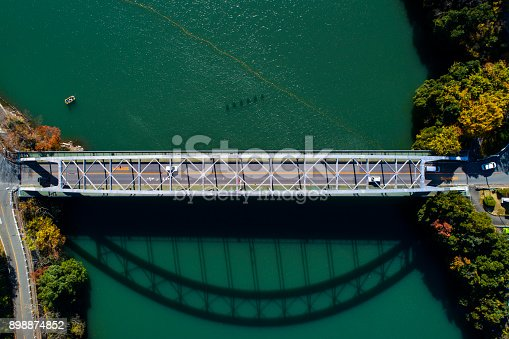 istock A big bridge over the mountain. 898874852