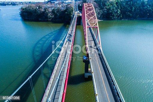 istock A big bridge over the mountain. 922401056