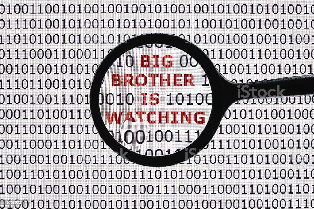 Big brother é observar - foto de acervo