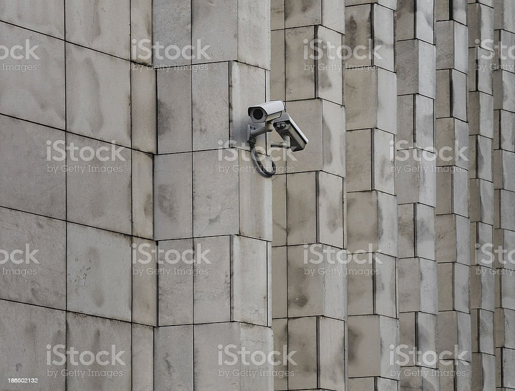 Big brother is watching us royalty-free stock photo