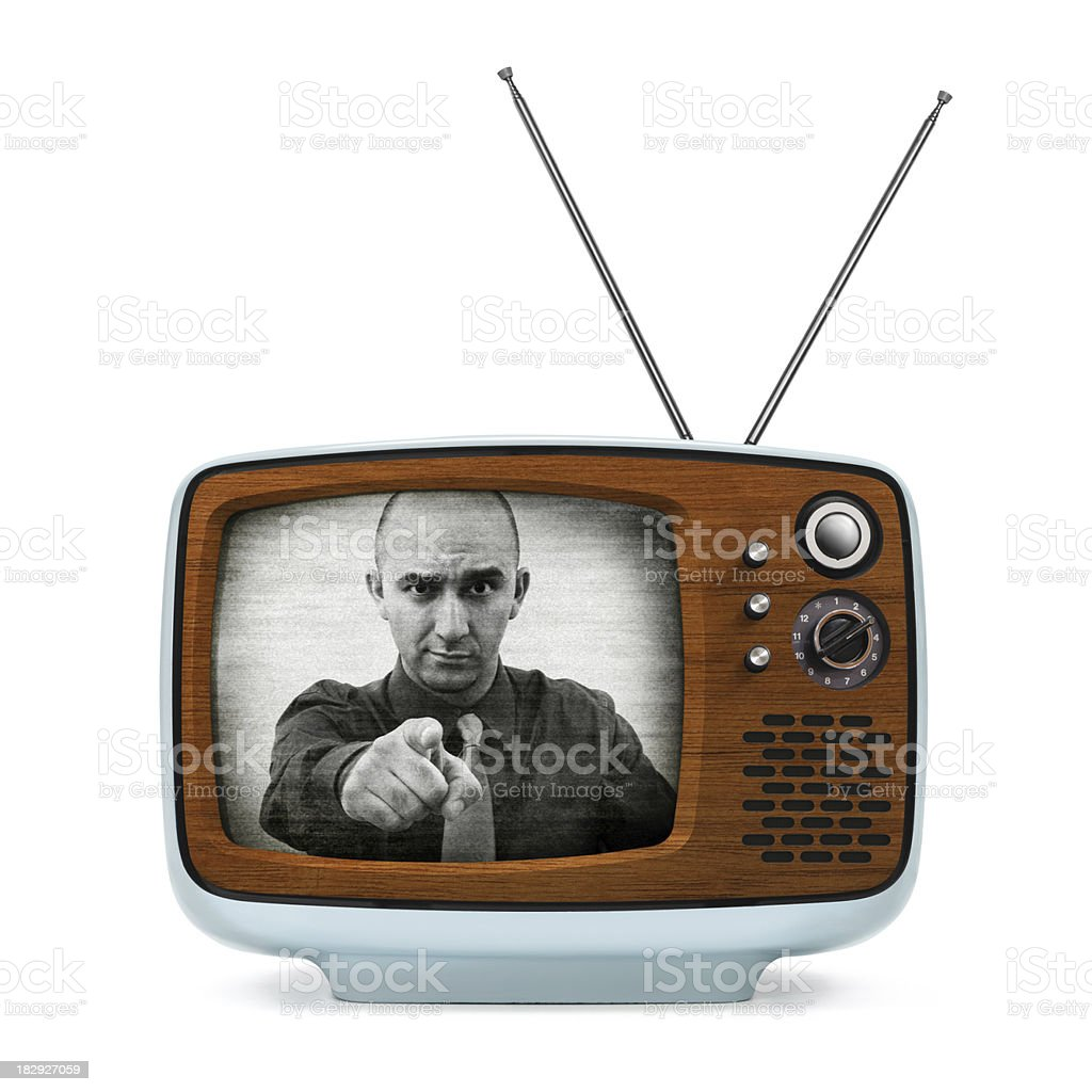 Big Brother Is Watching You royalty-free stock photo
