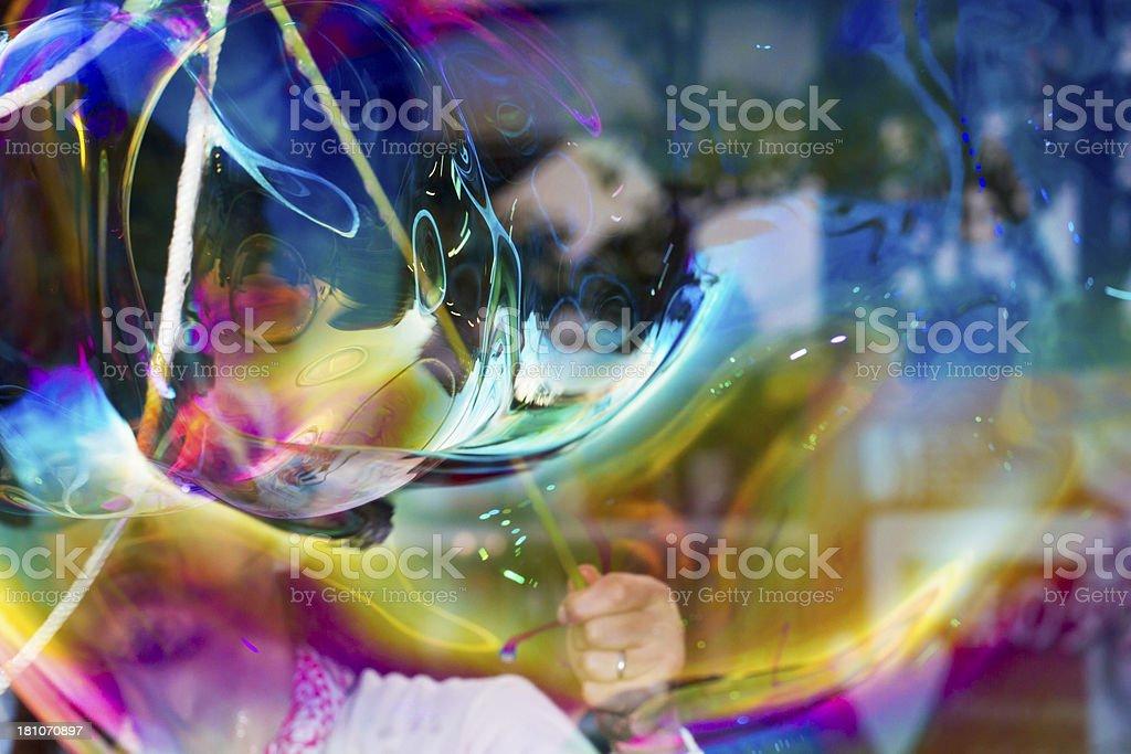 Big Bubble stock photo