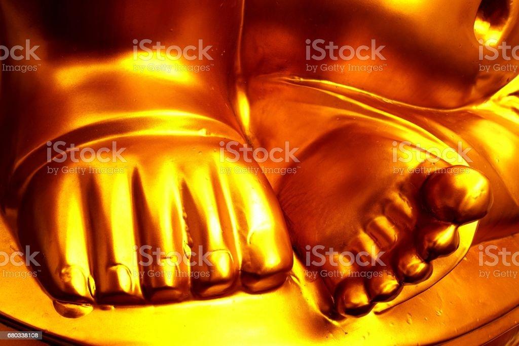 Big Buddha Feet стоковое фото