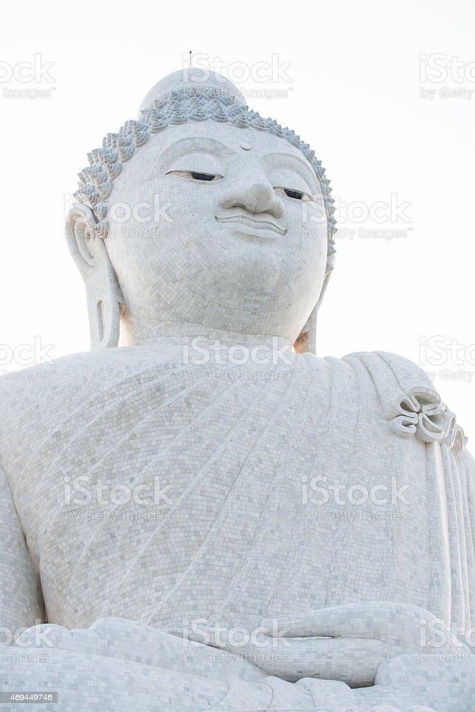 Big buddha in Phuket, Thailand stock photo