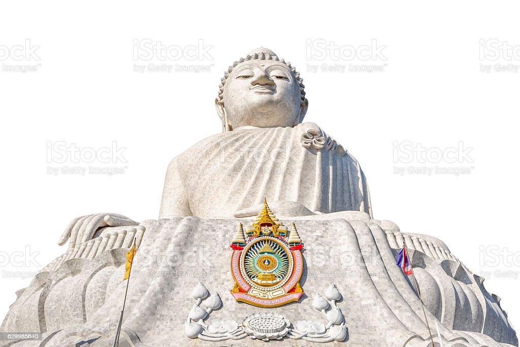 Big Buddha isolated stock photo