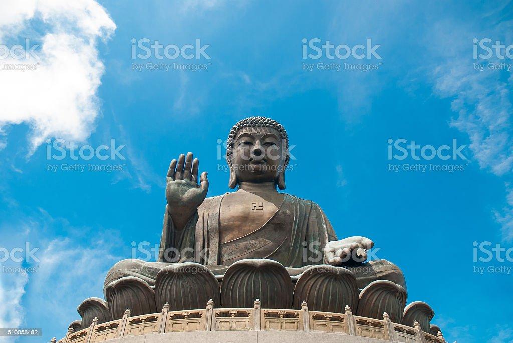 Big Buddha Ngong Ping stock photo