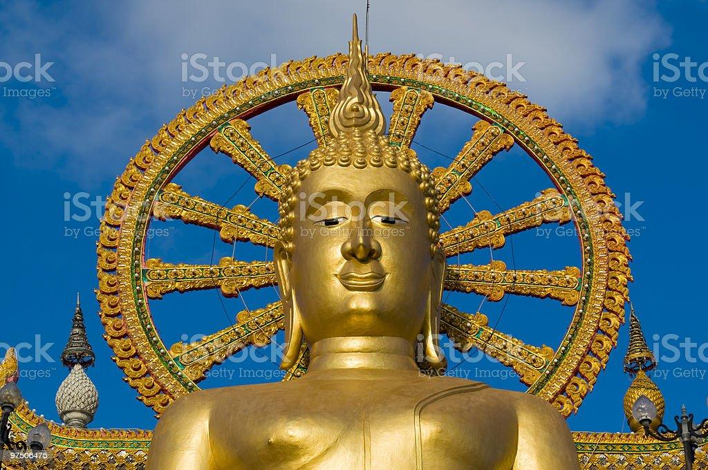 big buddha on samui island, thailand royalty-free stock photo