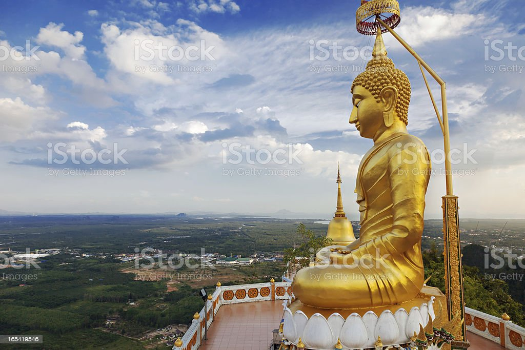 Big Buddha statue royalty-free stock photo