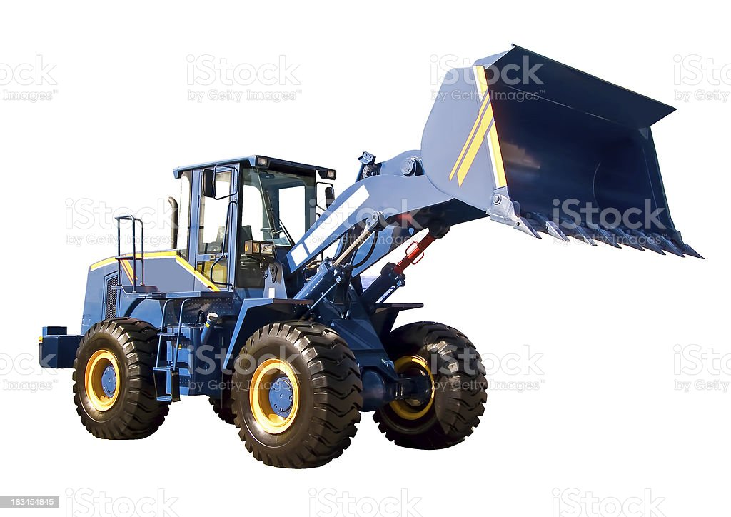 Big buldozer royalty-free stock photo